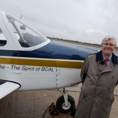 'British Caledonian' Piper Archer unveiled to raise money for charities