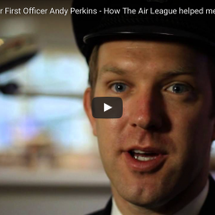 BA Senior First Officer Andy Perkins on how the Air League helped him achieve his dream job