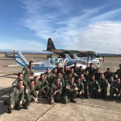ARGENTINIAN AIR FORCE CADETS GRADUATE ON TECNAM AIRCRAFT