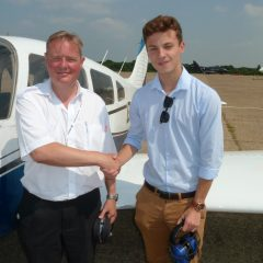 2017 Nick Davidson Memorial Flying Scholarship awarded