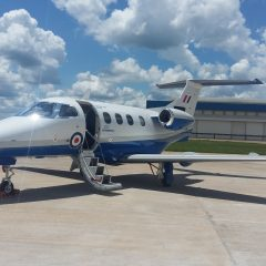 New aircraft arrive for UK military flight training