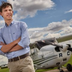 Third Air BP's Sterling Pilot Scholarship awarded