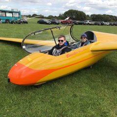 Air League Air Day 2017 at Bicester Gliding Centre