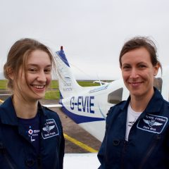 Dundee pilots circumnavigate UK to promote women in aviation