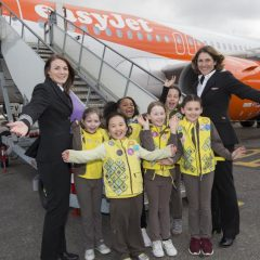 easyJet joins forces with Girlguiding to engage more girls in aviation