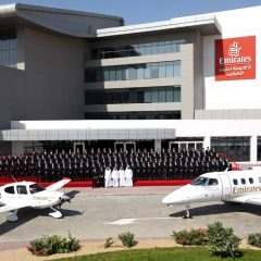 Emirates Flight Training Academy opens