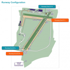 Stapleford airfield planning GNSS approach
