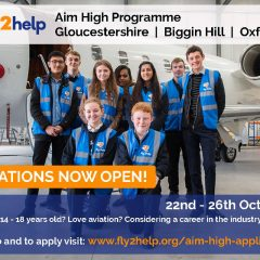 Aim High Applications Open