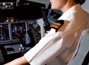 Commercial flight training resumes in the UK
