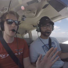 First Ever Flight Lesson: New Student Pilot