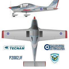 Hellenic Air Force Orders 12 Tecnam P2002 JF Training Aircraft