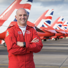 Ex- Red Arrows Pilot Mike Ling joins NDMFS Scholarship Charity as Patron