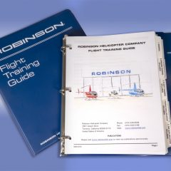 Robinson Introduces new Flight Training Guide