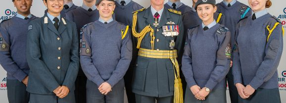 Budding Pilots Take to the Skies Thanks to RAF Charity