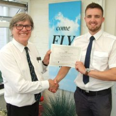 Air League Flying Scholarship Student Reaches First Solo
