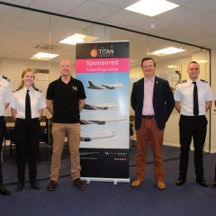 VA Welcomes First Titan Airways Cadets of the New Decade