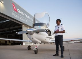 Quantas Opens new Flight Academy, Announces Scholarships