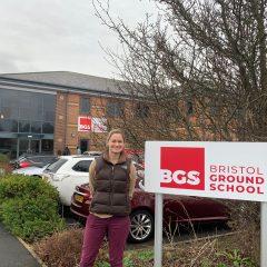 Bristol Groundschool Welcomes British Women Pilots' Association Scholarship Winner