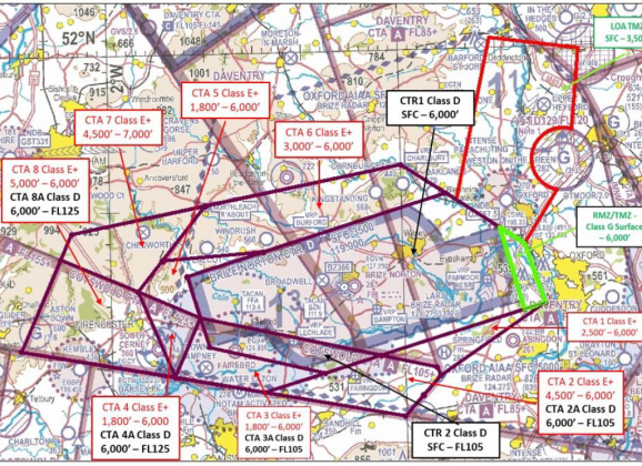 CAA rejects airspace change proposals from London Oxford Airport and RAF Brize Norton